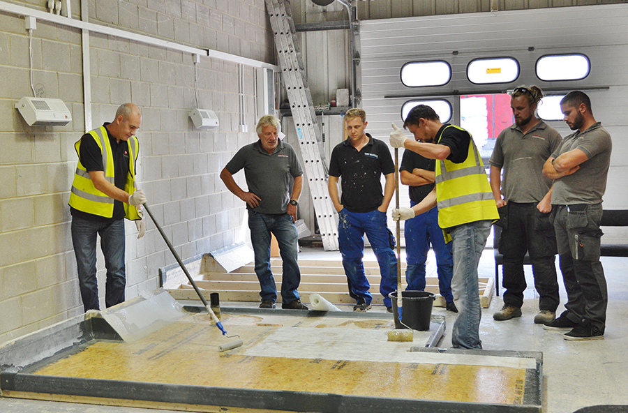 GRP Roofing Courses