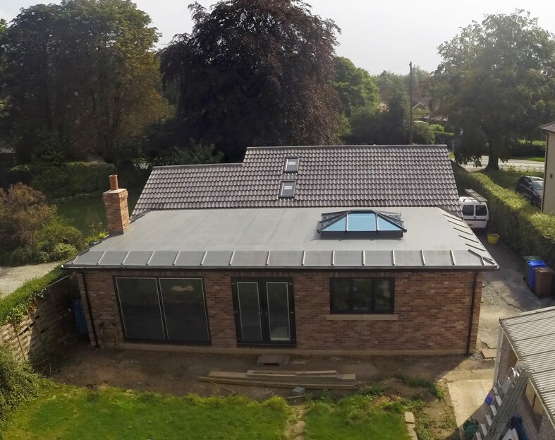 Flat Roof Extension: Topseal the No.1 Choice